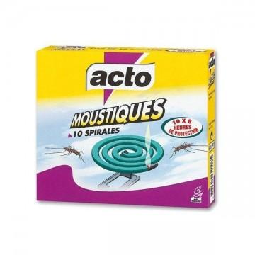 Acto Spirale - Boîte de 10 spirales anti-moustiques