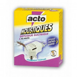 Diffuseur anti-moustiques 45 nuits Acto