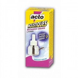Recharge Liquide anti-moustiques 45 Nuits Acto