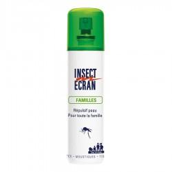 Répulsif cutané Insect Ecran Familles 100 mL